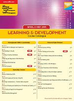 CEL May - June 2018 Professional Training & Development Courses Brochure